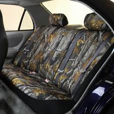 100 Camo Seat Covers For Trucks Hunting Uflage Rear FH Group