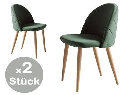 esszimmerstuhl samt 2er set grün günstig möbel küchen büromöbel kaufen froschkönig24