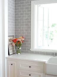 gray subway tile kitchen backsplash best gray subway tiles ideas