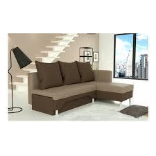 canapé beige convertible canapé d angle convertible en lit avec lit gigogne et coffre de