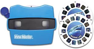 viewmaster discovery kids classic viewer with 2 reels marine