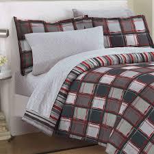 Minecraft Bedding Walmart by Minecraft Pixels Comforter Bedding Set Geometric White Black Green