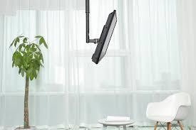 newstar newstar tv monitor ceiling mount for 10 40 screen