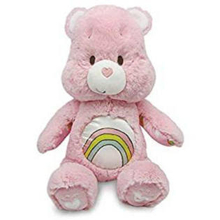 Care Bears Cheer Bear Soother Plush Toy - with Music and Lights