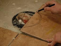 how to install tile on a bathroom floor hgtv