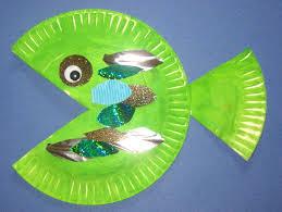 Paperplatefish 300x225 Paper Plate Fish