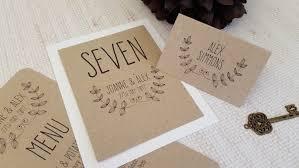 Handmade Wedding Invitations Pocketfold Laurel Rustic