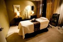 Relaxing Day Spa Treatment Room
