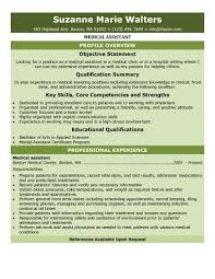 Download Free Medical Assistant Resume Templates Browse For Job Description Objectives Skills And Qualifications Your