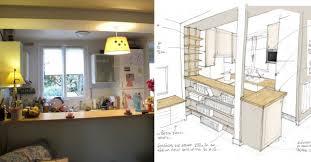 cuisine au cuisine au milieu de la