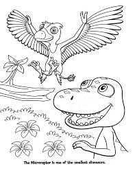 Dinosaur Train Free Coloring Pages Printable