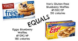 مصفوفة لا تفعل انتبه على vans gluten free blueberry waffles