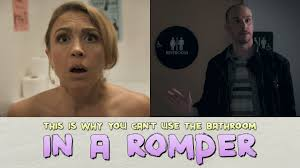 Fucking My Sister In The Bathroom by This Is Why You Can U0027t Use The Bathroom In A Romper Youtube