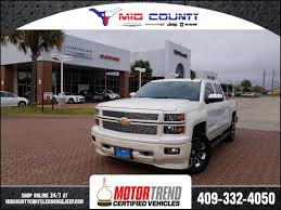 100 Used Chevy Truck For Sale 2014 Silverado 1500 LTZ In Port Arthur TX VIN