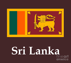Sri Lanka Flag And Name Digital Art By Frederick Holiday