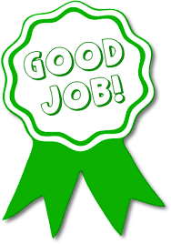 Description Clipart First Place Good Job Work Green Ribbon Note The Report This Image Link Click It When You Feel That