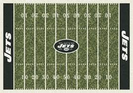 Milliken Carpet Tiles Specification by Milliken Area Rugs Nfl Home Field Rugs 01066 New York Jets
