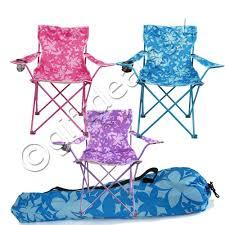 Ebay Patio Furniture Uk by Floral Design Folding Camping Chair Seat Lounger Garden Outdoor