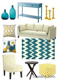 capricious yellow living room accessories decorating with yellow 6