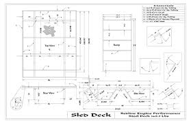 sled deck plans plans diy free download simple garage plans with