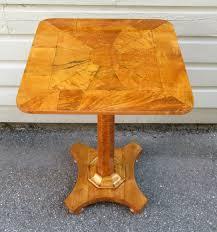Birdseye Maple Serpentine Dresser 19th century english regency birdseye maple occasional pedestal
