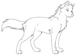Free Printable Wolf Coloring Pages Page