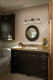 Powder Room Vanity Traditional Powder Room Chicago by