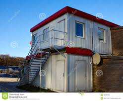 100 Cargo Shipping Containers Houses Beautiful House Made From Stock Photo