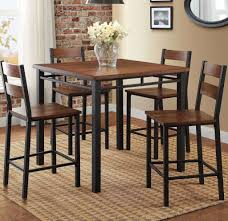 Lovely Design Ideas Pub Kitchen Table Dining Set 5 Piece ... Kitchen Design Table Set High Top Ding Room Five Piece Bar Height Ideas Mix Match 9 Counter 26 Sets Big And Small With Bench Seating 2018 Progressive Fniture Willow Rectangular Tucker Valebeck Brown Top Beautiful Cool Merlot Marble Palate White 58 A America Bri British Have To Have It Jofran Bakers Cherry Dion 5pc