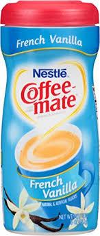 Nestle Coffee Mate Creamer French Vanilla 15oz Powder Click
