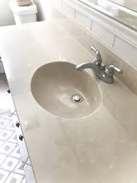 Slow Draining Bathroom Sink And Tub by Diy Painted Bathroom Sink Countertop Bless U0027er House