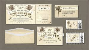 Boarding Pass Vintage Wedding Tickets