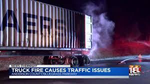 100 Bluegrass Truck And Trailer Semi Catches Fire On BG Parkway LEX18com
