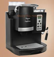 Commercial Automatic Lcd Espresso Coffee Machine Multi Language 1