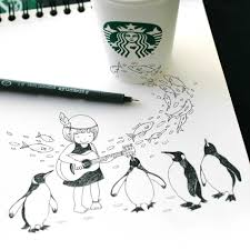 Starbucks Unicorn Frappuccino Drawing Elegant At Getdrawings