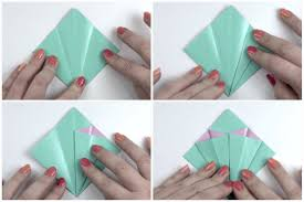 How To Make A Flower Out Of Paper Step By An Easy Origami