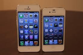 iPhone 5 vs iPhone 4S SLIDESHOW