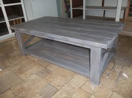 Coffee Tables Ana White Rustic X Table The Schorr Thing Diy Projects Video Plans Pocket
