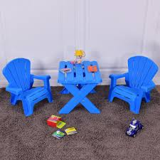 Plastic Children Kids Table & Chair Set 3-Piece Play Furniture In ... Greek Style Blue Table And Chairs Kos Dodecanese Islands Shabby Chic Kitchen Table Chairs Blue Ding Http Outdoor Restaurant With And Yellow Crete Stock Photos 24x48 Activity Set Yuycx00132recttblueegg Shop The Pagosa Springs Patio Collection On Lowescom Tables Amusing Ding Set 7 Piece 4 Kids Playset Intraspace Little Tikes Bright N Bold Free Shipping Balcony High Cushions Fniture Rst Brands Sol 3piece Bistro Setopbs3solbl The
