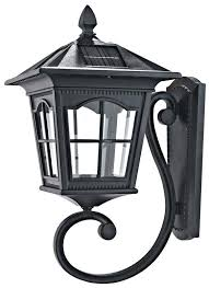 solar powered wall light attractive outdoor solar wall sconce