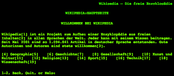 line mode browser wikipedia