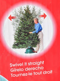 Christmas Tree 10ft by St Nick U0027s Choice Swivel Straight Christmas Tree Stand Up To 10ft