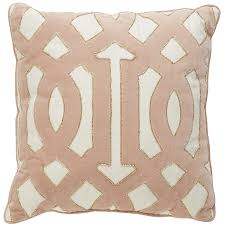 Uh oh I might like this one better Blush Velvet Scroll Pillow