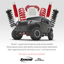 100 Best Shocks For Lifted Trucks 4762 Jeep Utility Truck 4WD 153 Lift RS5000 Rancho Front