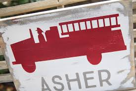 Lovely Fire Truck Wall Art 51 With Additional Optical Illusion ...