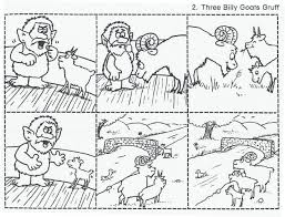 The Three Billy Goats Gruff Sequencing Cards These Are Great For Retelling Have Students