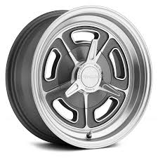 AMERICAN RACING® VN502 1PC Wheels - Magnesium Gray With Machined Lip ...