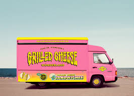 100 Grilled Cheese Food Truck FDRSs Wonderland Truck On Behance
