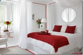 Red And White Bedroom Ideas Fascinating Decorating