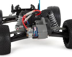 100 Traxxas Stadium Truck Rustler 110 RTR 2WD Electric Rock N Roll W